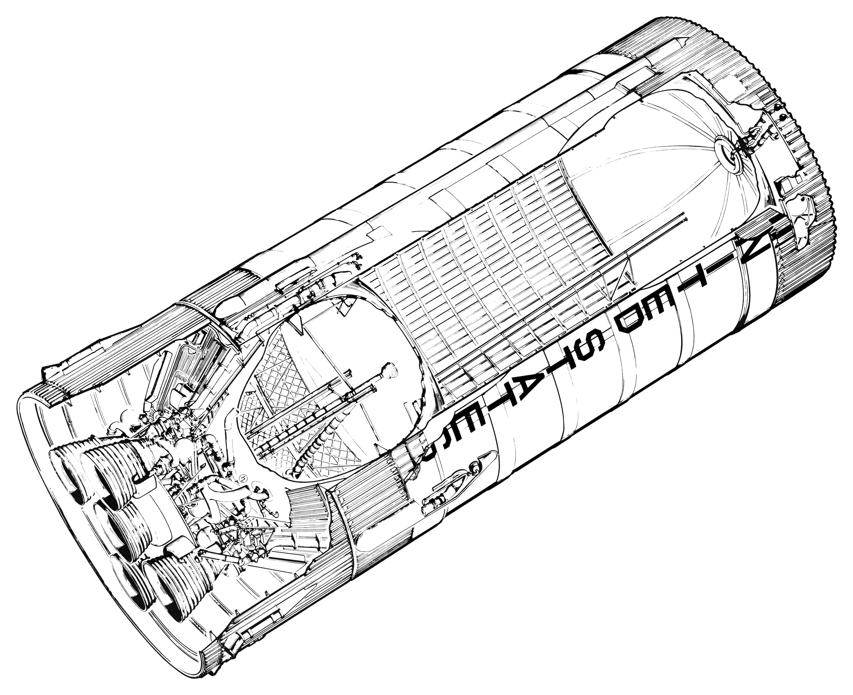 Passenger Rocket Diagram