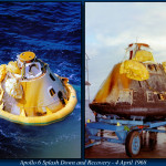 Apollo 6 splashdown and recovery