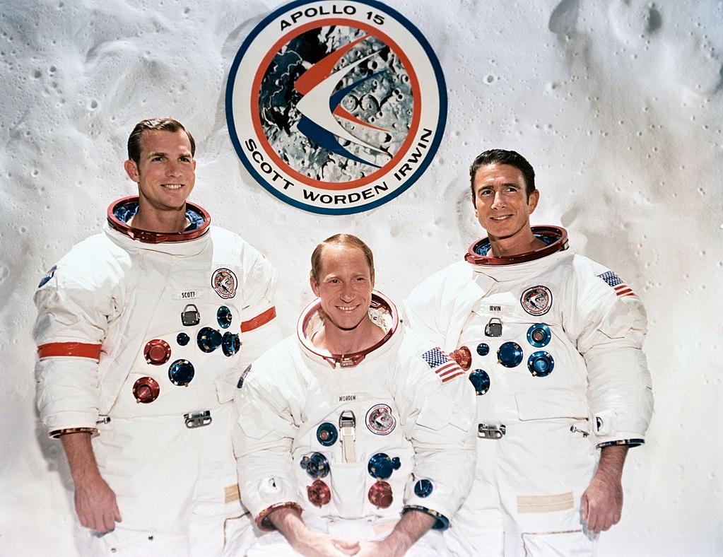 Echipajul misiunii Apollo-15