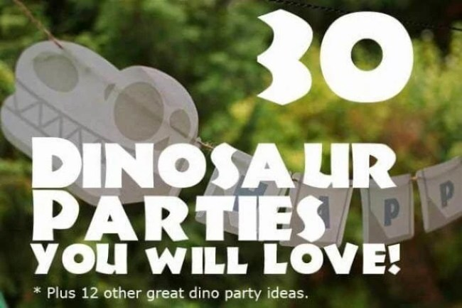 30 Dinosaur Birthday Parties You will Love