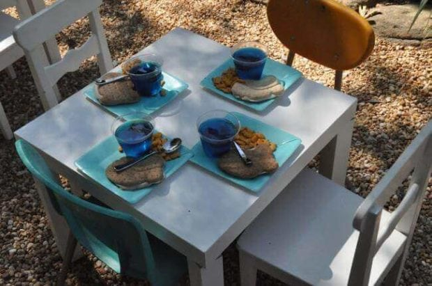 Boys Vintage Fishing Birthday Party Table
