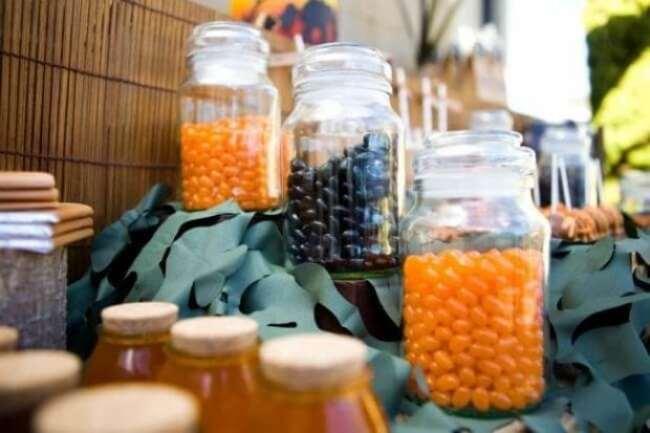 Boys Safari Birthday Party Candy Ideas