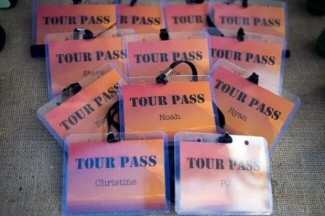Boys Safari Birthday Party Pass