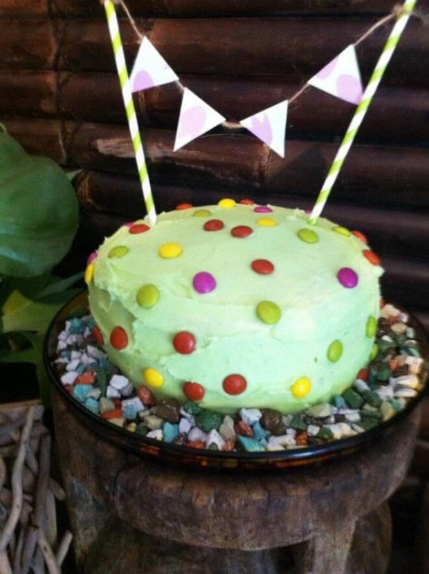 Boys Dinosaur Themed Birthday Party Cake Ideas