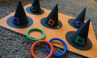 Halloween Party Game Hat Toss