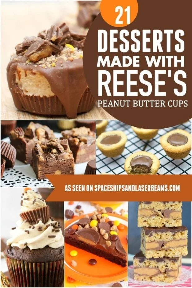 Reeses Peanut Butter Cup Desserts