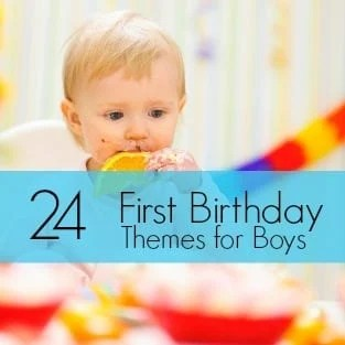 24 First Birthday Theme Ideas For Boys 12