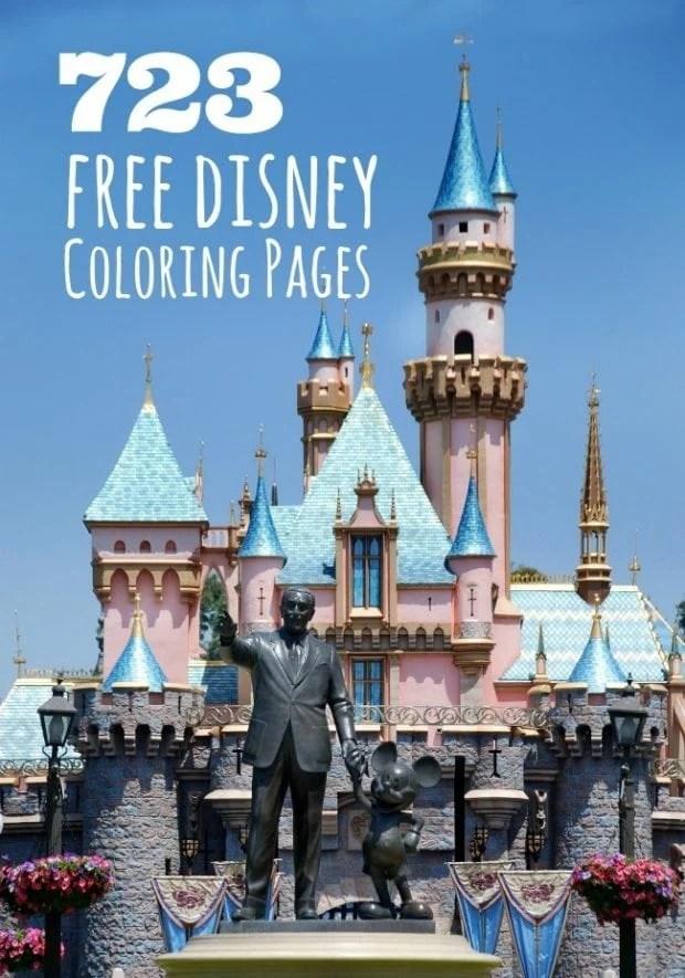 Coloring Disney Pages Puzzle