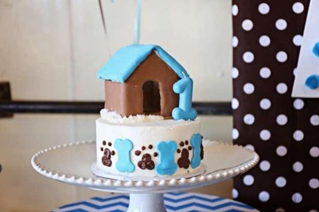A Dog Gone Cute Boy S Puppy First Birthday Party