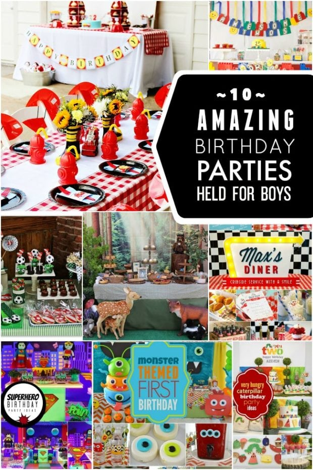 10 Amazing Boy Birthday Party Ideas  Spaceships and Laser