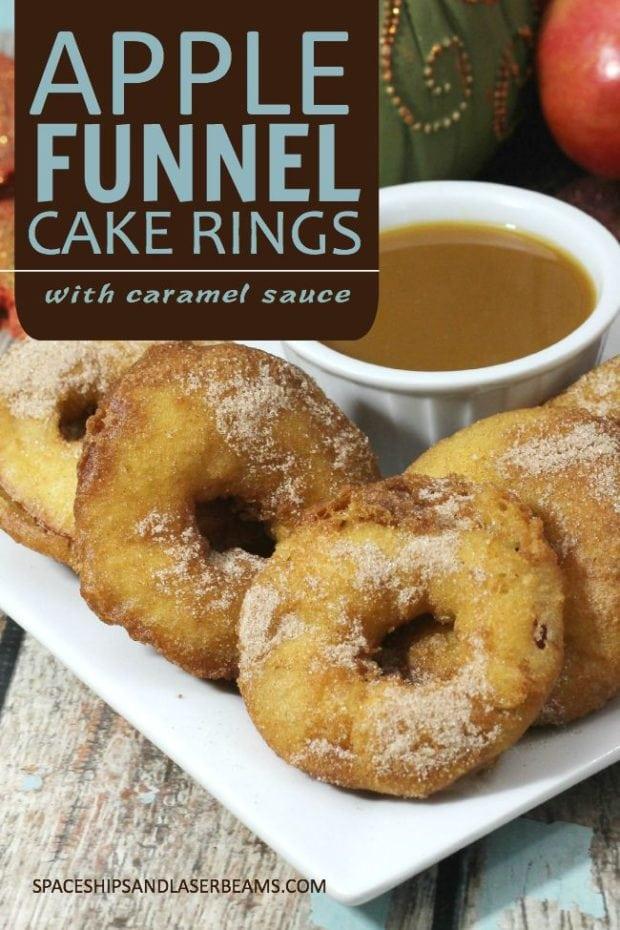 Apple Funnel Cake Rings