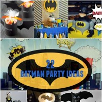 22 Batman Party Ideas | Spaceships and Laser Beams