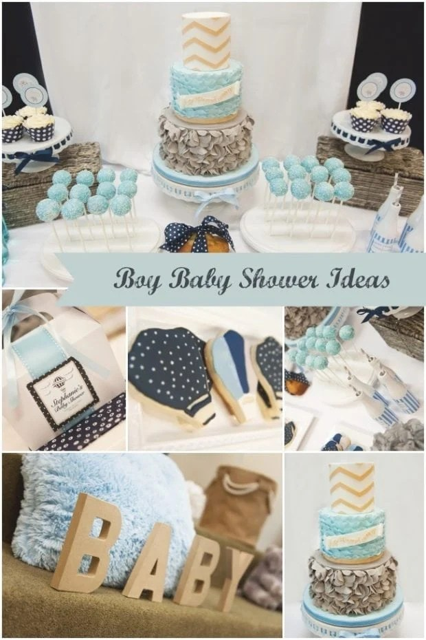 Beautiful Boy Baby Shower Ideas