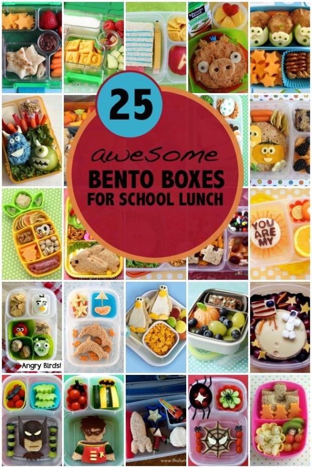 Bento Box Ideas For School Lunch