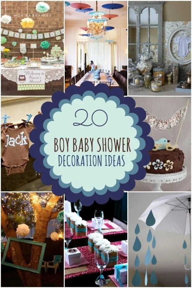 20 Boy Baby Shower Decoration Ideas