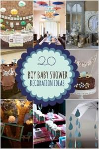 20 Boy Baby Shower Decoration Ideas | Spaceships and Laser ...