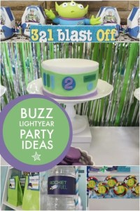To Infinity and Beyond! A Boy s Buzz Lightyear Birthday ...