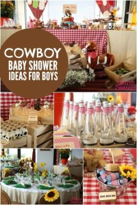 Bouncing Baby Buckaroo Cowboy-Themed Baby Shower ...