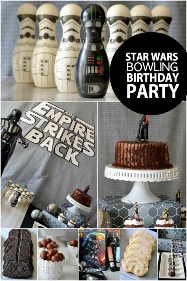 Boys Star Wars Bowling Birthday Party