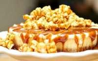 Caramel Popcorn Cheesecake Recipe Idea