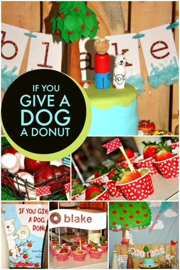 Give A Dog A Donut Birthday Party ideas