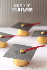 Party Food: Rolo Graduation Cap - Spaceships and Laser Beams