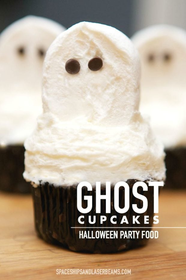 halloween-party-food-ghost-cupcakes