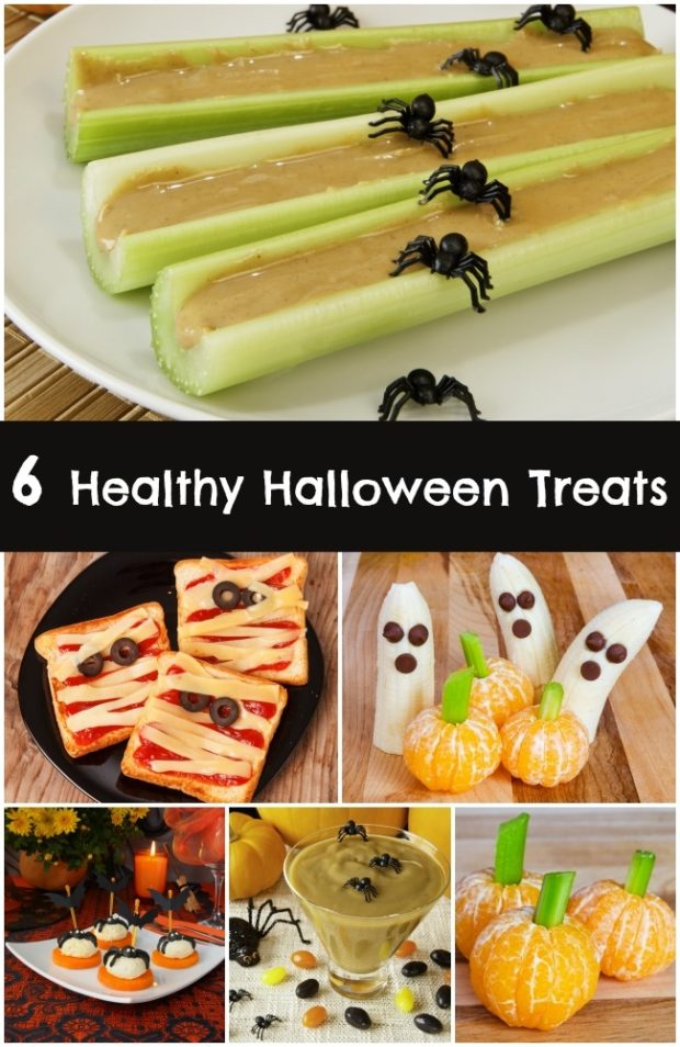 6 Healthy Halloween Treats Spaceships And Laser Beams