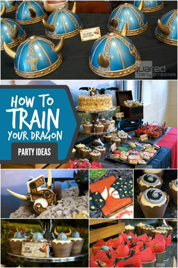 How to Train Your Dragon 2 Inspired Boys Birthday Party  Spaceships and Laser Beams