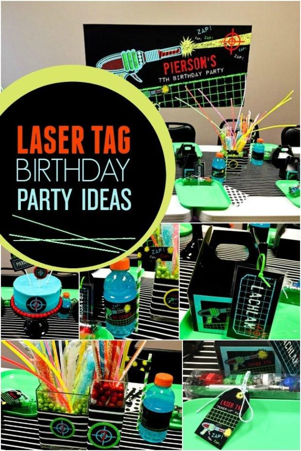 Laser Tag Birthday Party Ideas