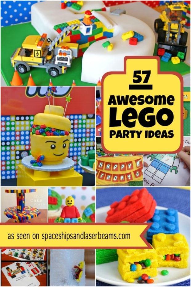 57 Lego Themed Birthday Party Ideas Perfect For Boys