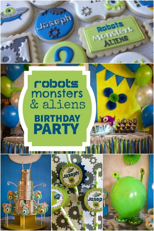 Monsters Aliens Birthday Party