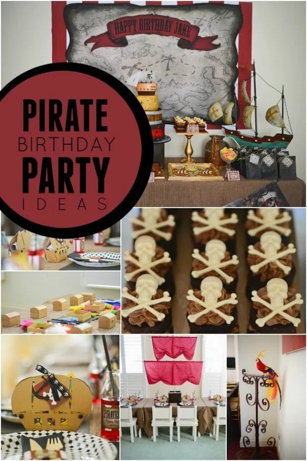 Jake And The Neverland Pirates Boy S Birthday Party