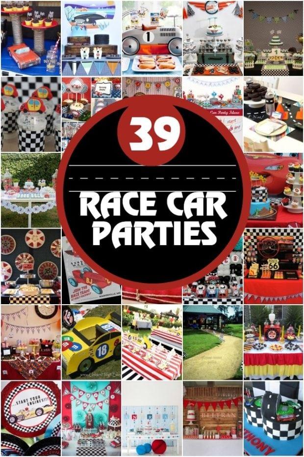 Race Car Birthday Party Ideasjpg