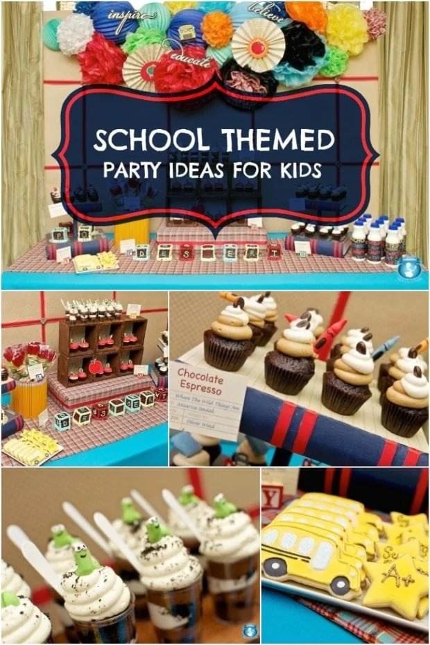 Back to School Themed Party