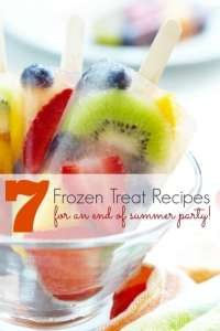 End of Summer Party Ideas: 7 Frozen Treats - Spaceships ...