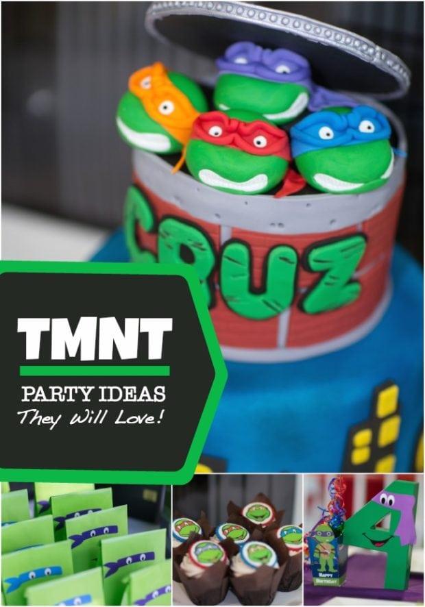 Boy S Teenage Mutant Ninja Turtles Birthday Party