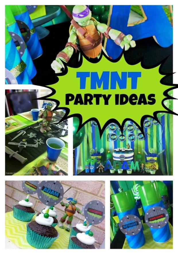 Teenage Mutant Ninja Turtles Birthday Party  Spaceships