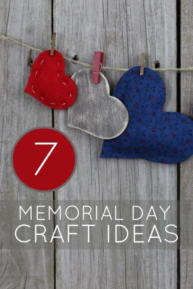 7 Patriotic Crafts for Memorial Day  Spaceships and Laser