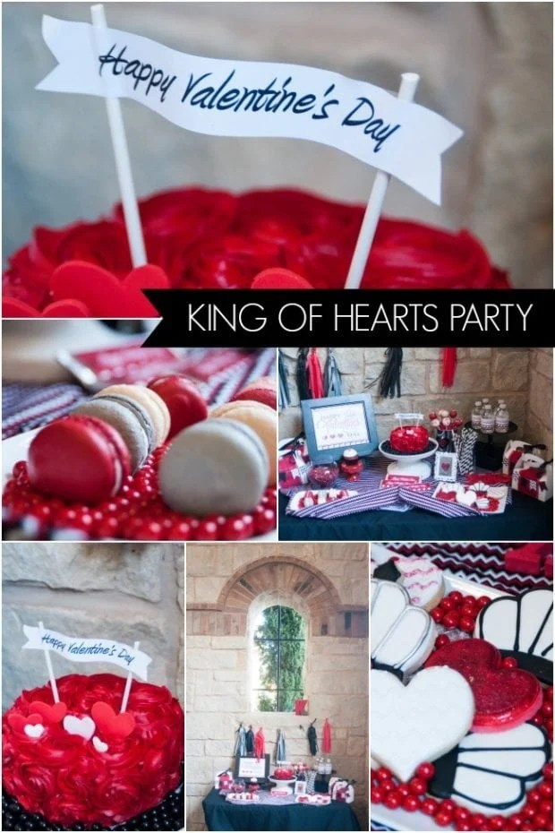 King Of Hearts Valentines Day Party Spaceships And