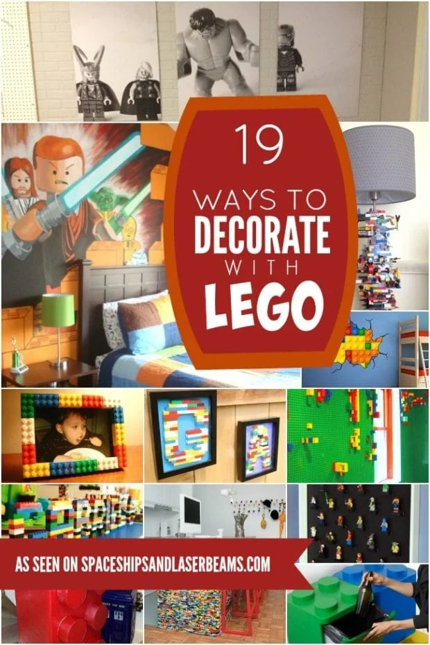 19 Lego Decorations And Room Decor Ideas Your Kids Will