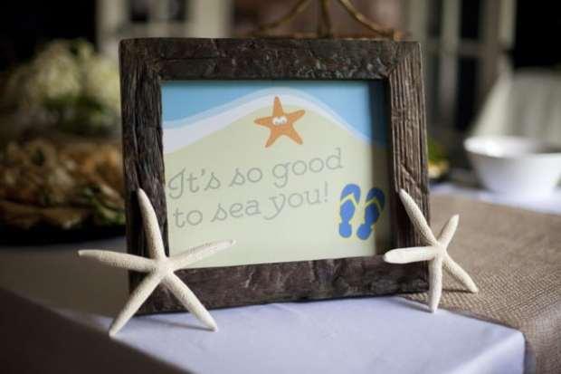 Custom Printables for a Boy's Beach Themed Birthday Party
