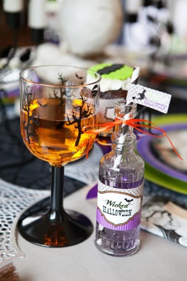 Witch Themed Halloween Party Drink Ideas