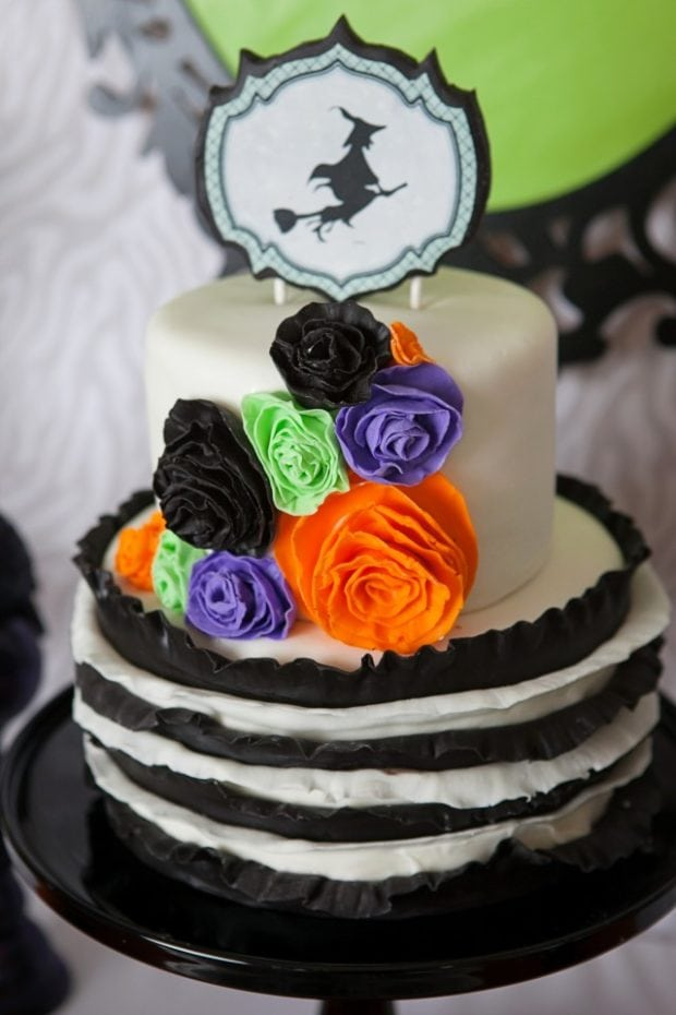 Witch Themed Halloween Party Food Cake Ideas