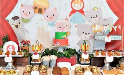Fairytale Boy's Birthday Party