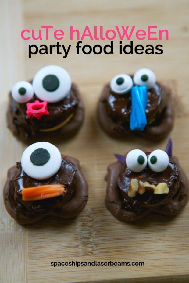 Halloween Party Food: Cute Monsters