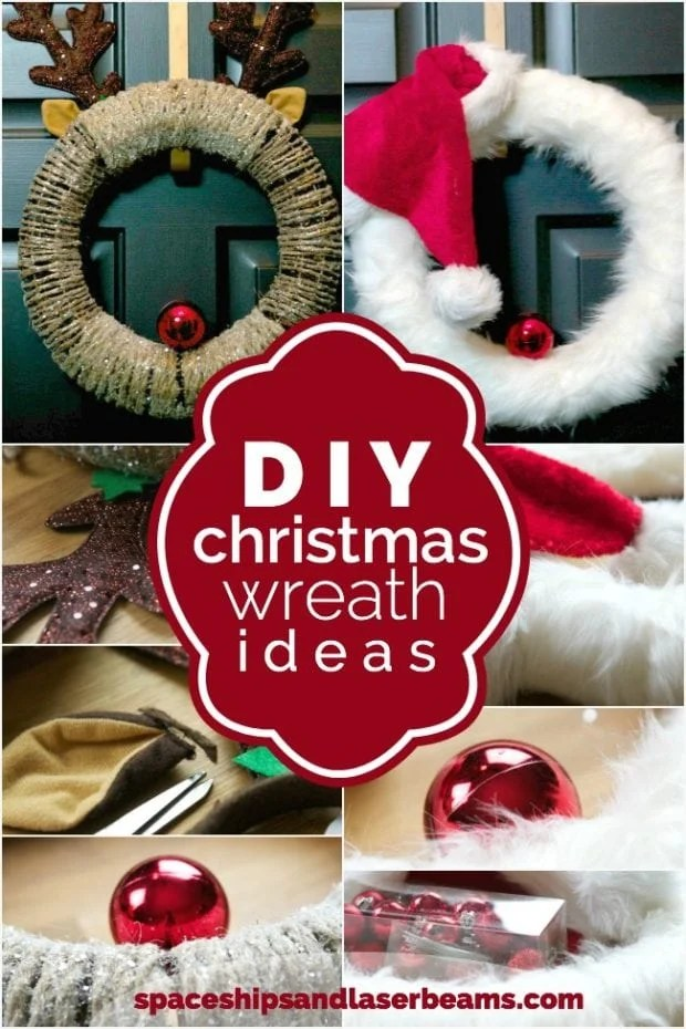 DIY Christmas Wreath Ideas Spaceships And Laser Beams