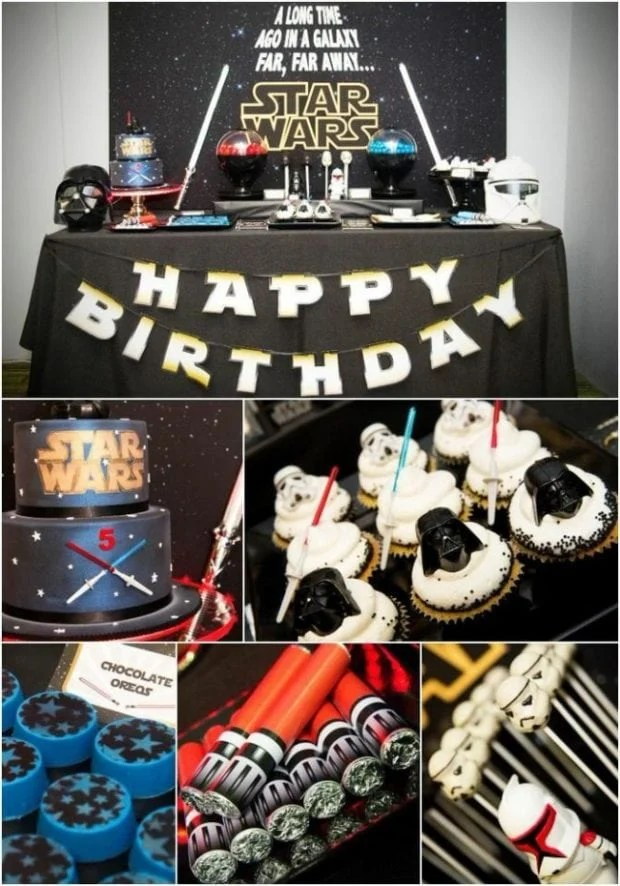 Good vs. Evil Star Wars Dessert Table