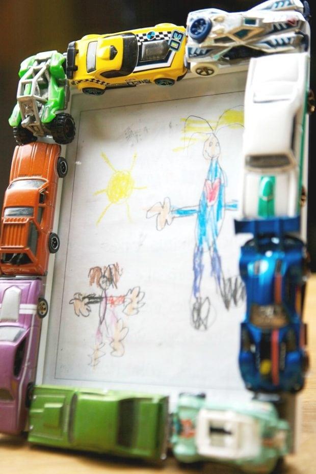 Easy DIY Kid's Frame