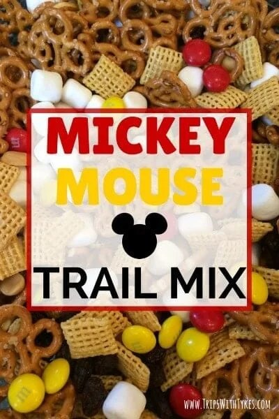 14 Mickey Mouse Trail Mix